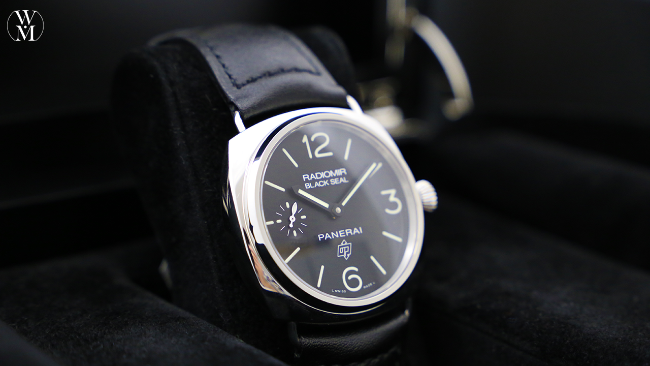 days due novelties watches automatic zoom pam luminor panerai