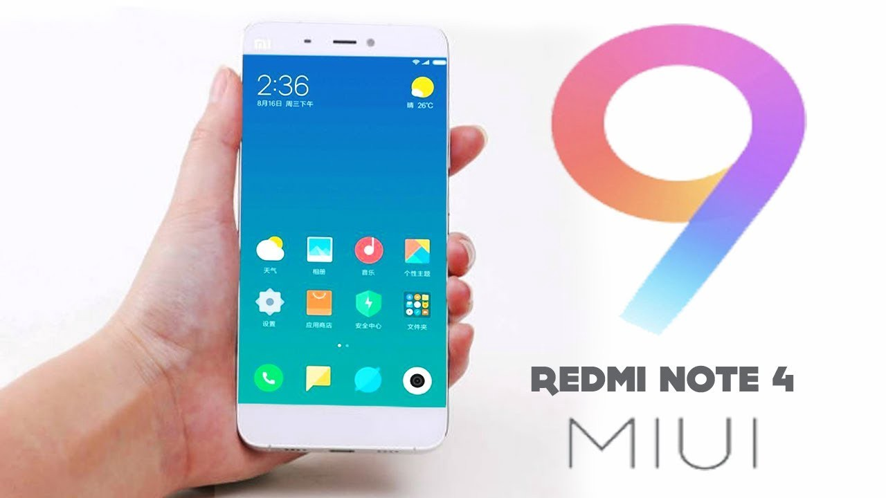Xiaomi redmi note 4 starts to get miui 9 stable global rom in india stopboris Images