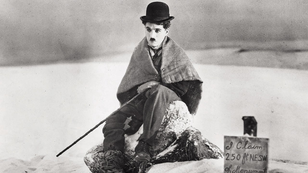 THE GOLD RUSH (1925) — Charlie Chaplin [my favorite silent film…and maybe  movie in general]