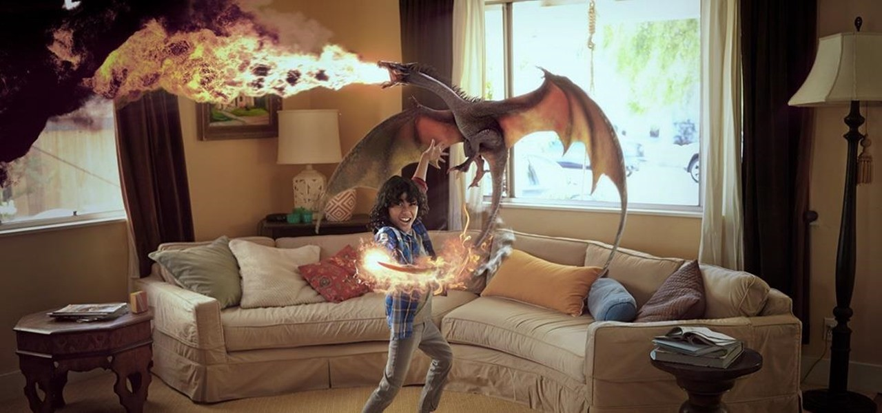 Mixed reality by Magic Leap