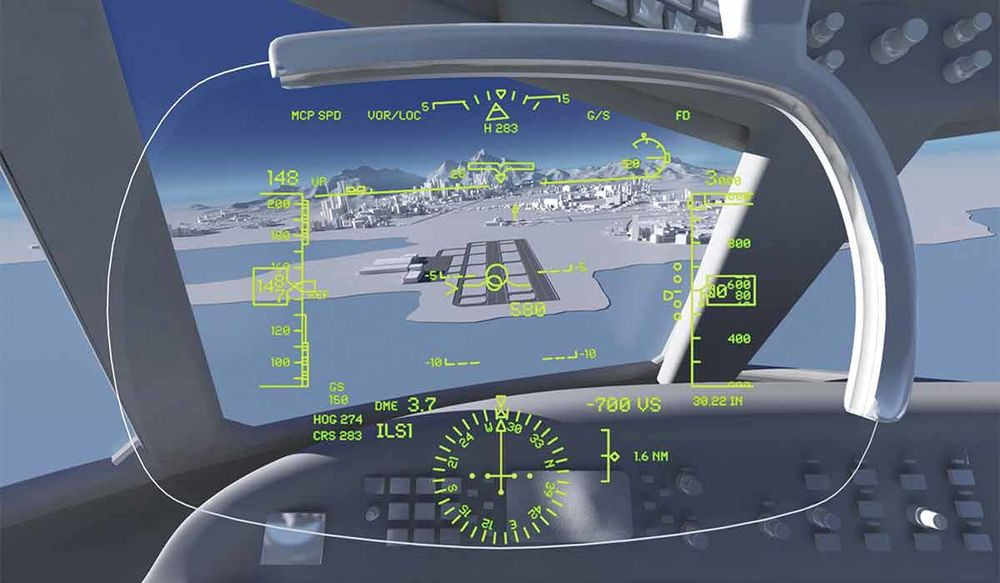 Advancing avation technology - AR dashboard