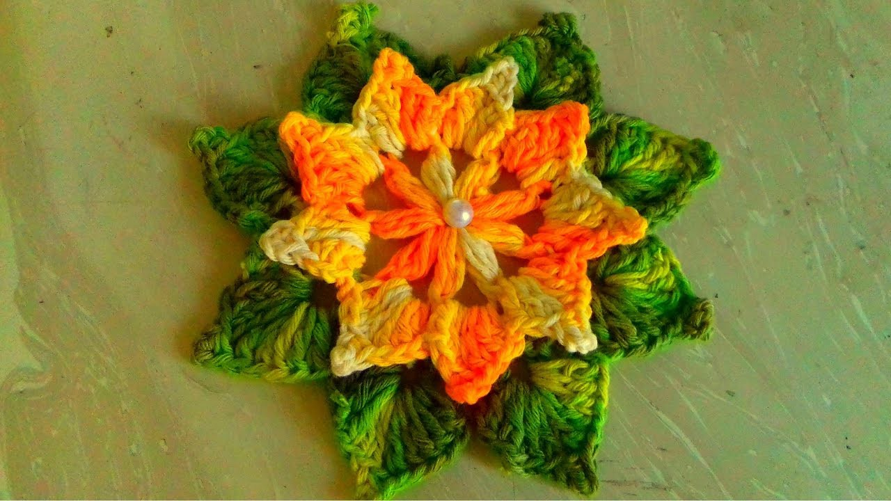 Crochet flowers a great way to use up your leftover yarn izmirmasajfo