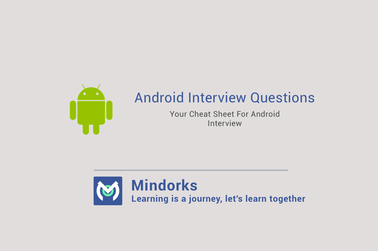Android interview questions mindorks medium your cheat sheet for android interview questions altavistaventures Images