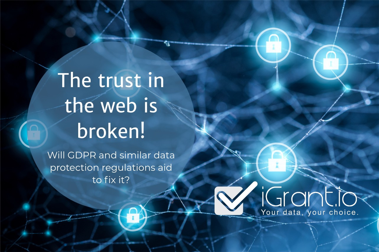 The Internet is broken, here is why I think GDPR with web