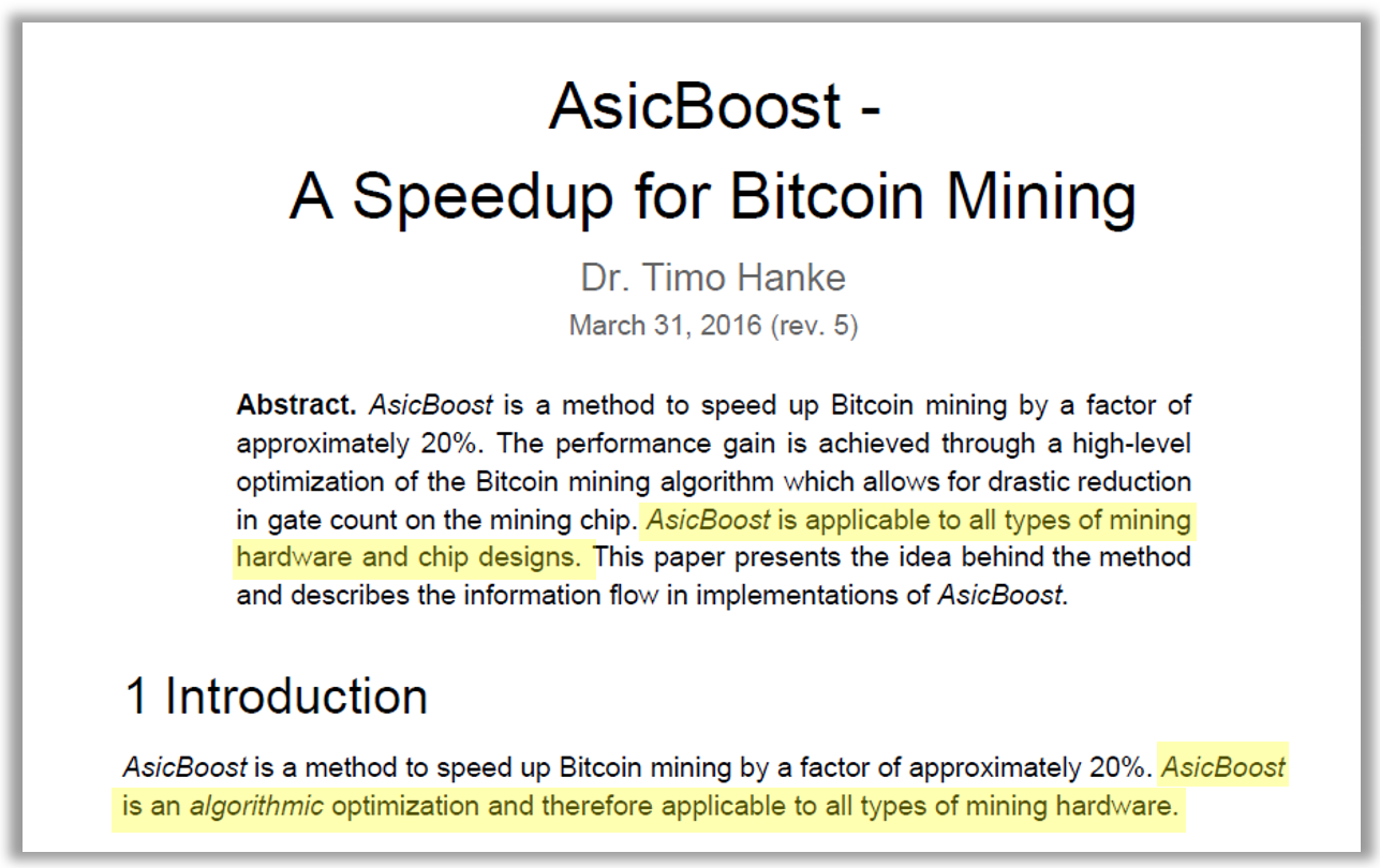 asicboost to boost or not to boost