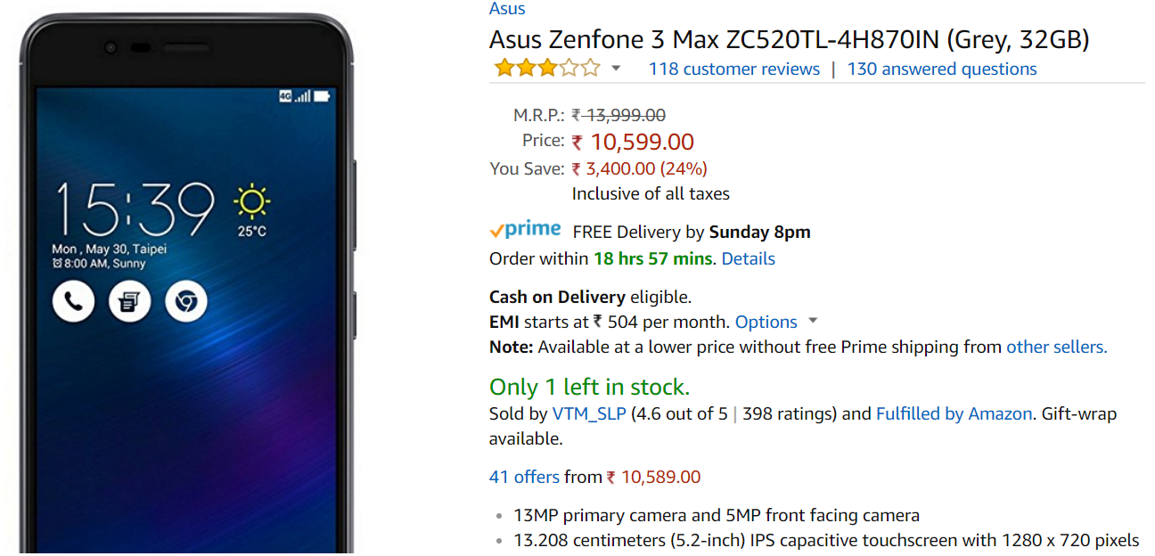 a simple flaw creates bad customer experience an experience with shopping on amazonin