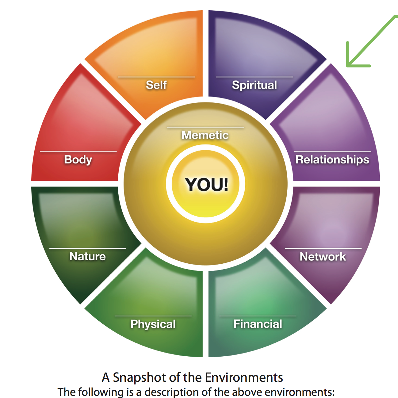 The 9 environments that make up your life the mission medium the diagram above is from jim bunchs company the ultimate game of life i was initially introduced to the idea that our life is made up of environments pooptronica Images