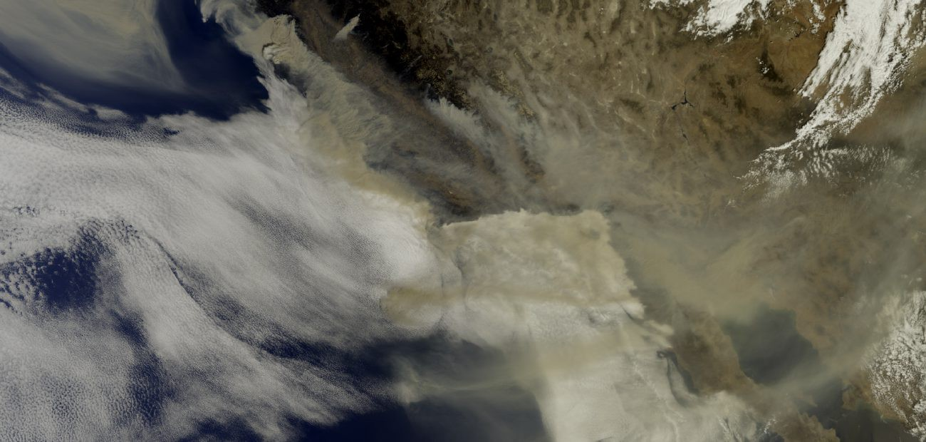 Smoke from exceptional California wildfires reaches Europe