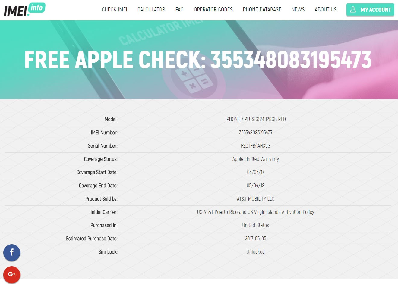 find my phone with imei iphone