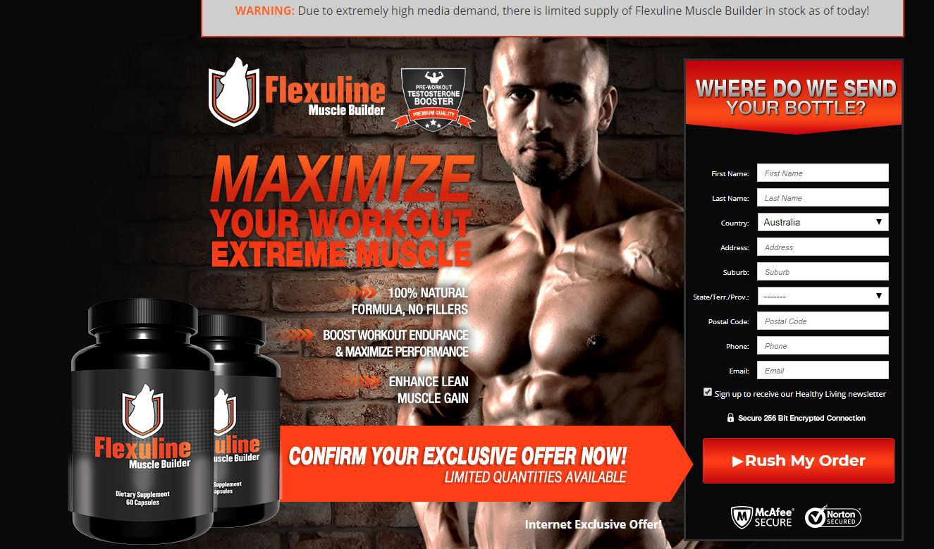 Flexuline ZA{South Africa} Reviews| Flexuline Muscle Builder Working & Cost