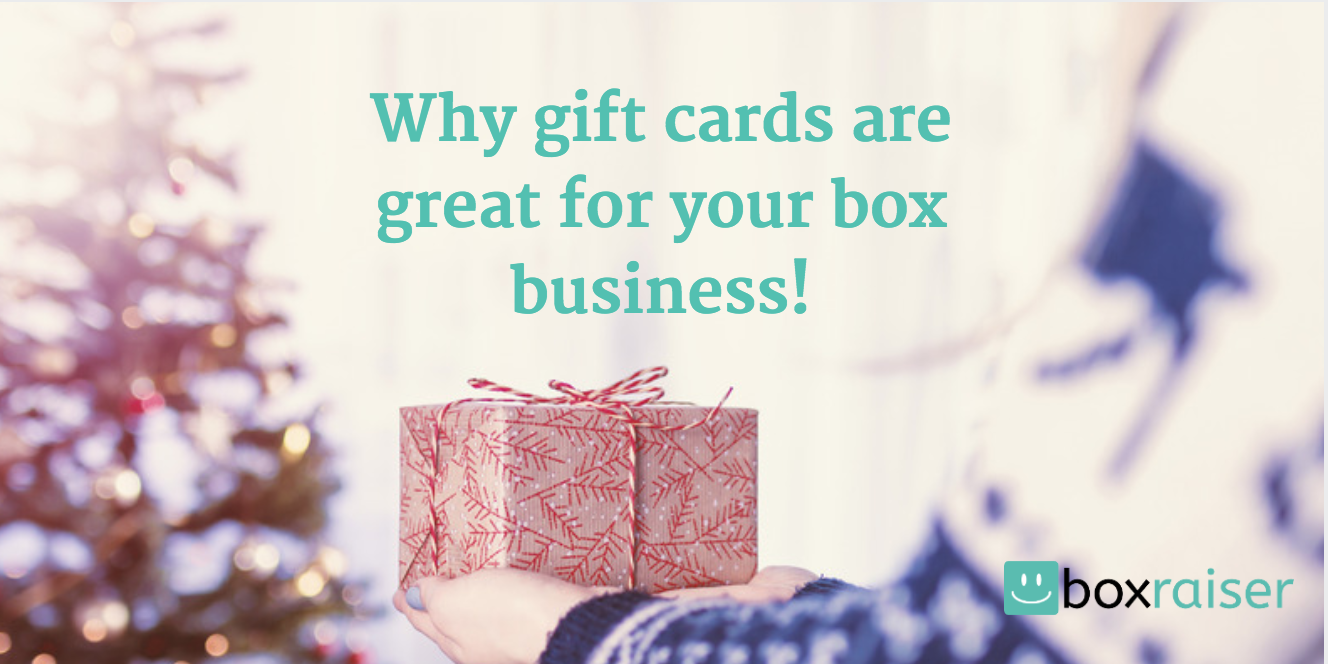 Why gift cards are great for your box business boxraiser medium reheart Images
