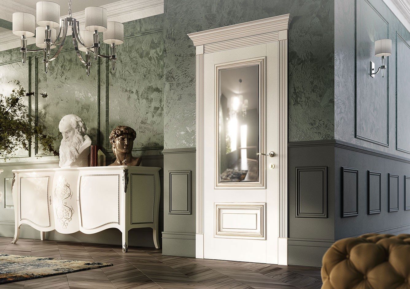 Delicieux Traditional Interior Doors: Luxury And Aristocratic Chic