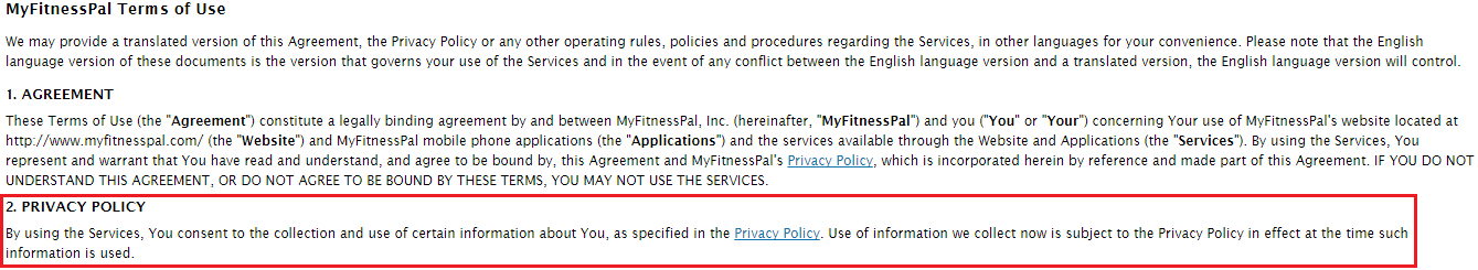 Privacy Policy Vs Terms Of Service By TermsFeed Medium - Saas privacy policy template