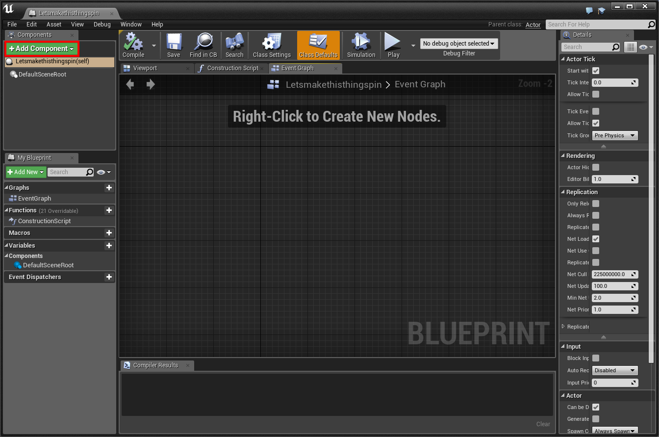 Simple animation in ue4 luke marsden medium blueprint view unreal engine 2017 malvernweather Image collections
