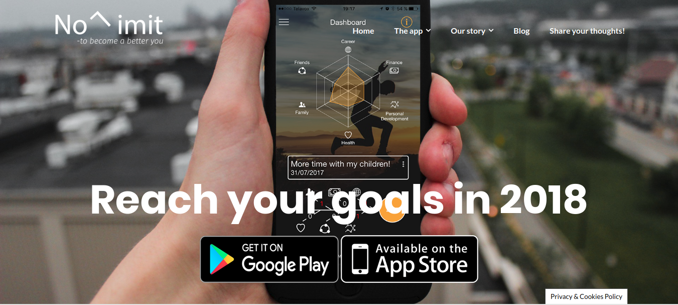 Image result for No Limit-app - Best Goal Setting and Goal Tracking App