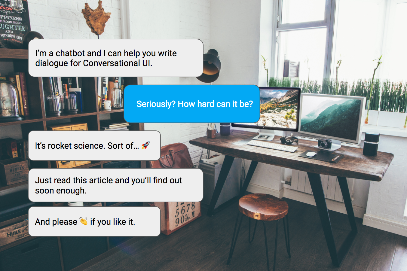 How to write winning dialogue for conversational ui ccuart Gallery