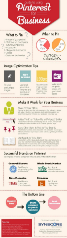 A Guide to Using Pinterest for Business [Infographic]