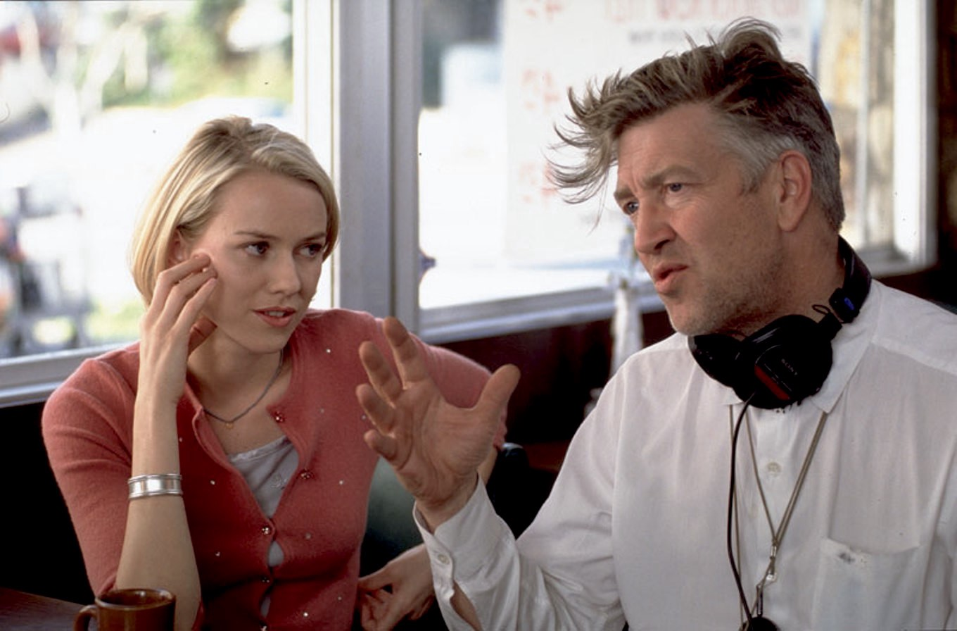 Image result for mulholland drive behind scene