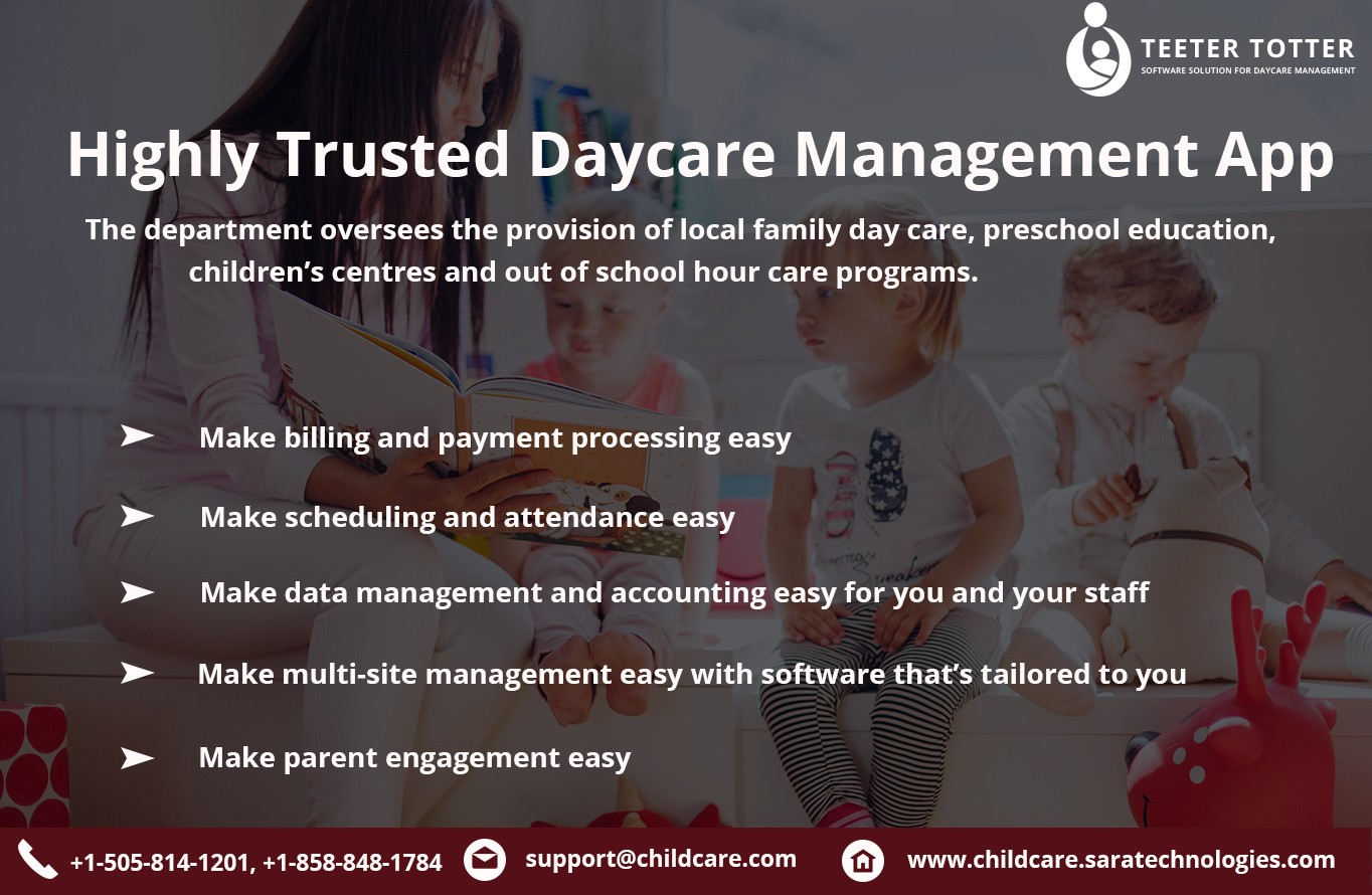 highly trusted daycare management app