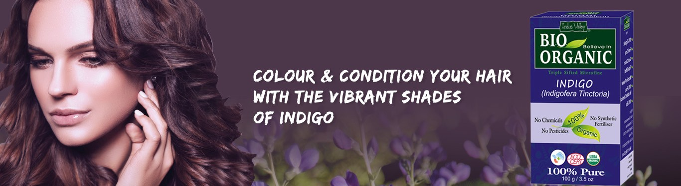 Colour Your Hairs With The Organic Indigo Powder For A Chemical Free