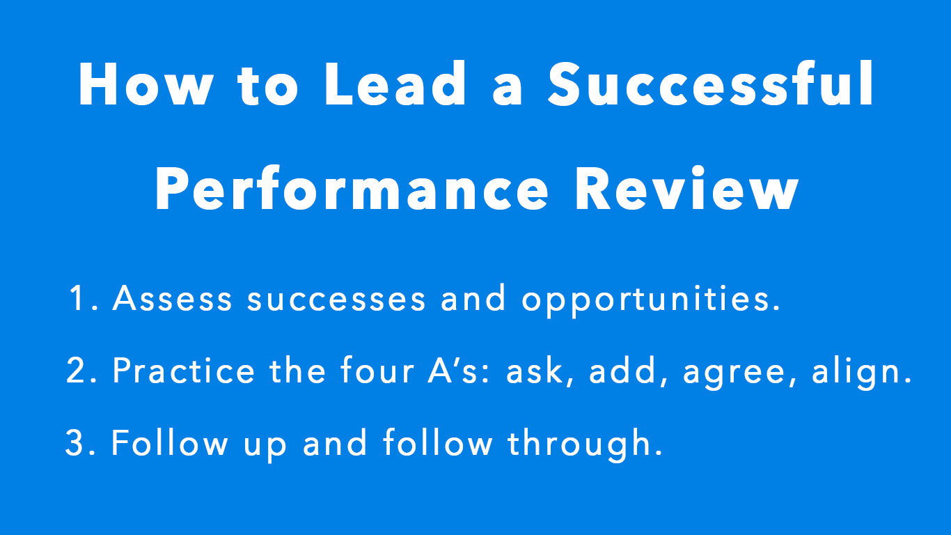 How To Lead A Productive Performance Review Thrive Global Medium