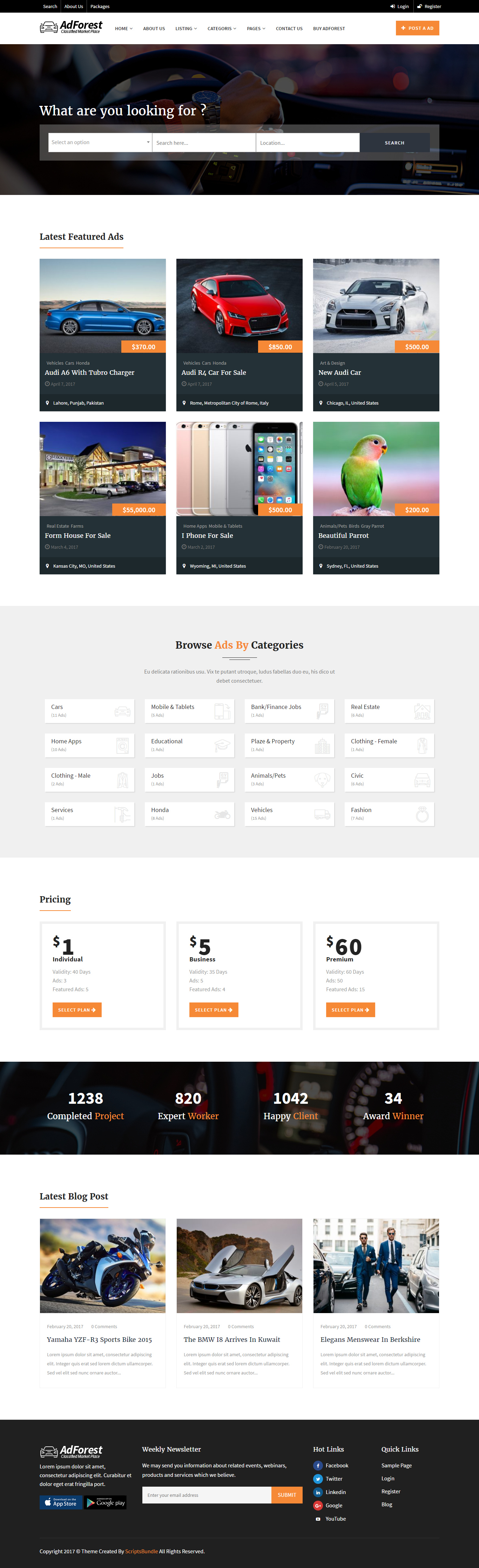 How to Design fully functional Classified WordPress theme with AdForest