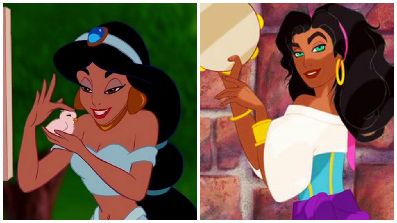 What would Disney princesses look like if they were old?