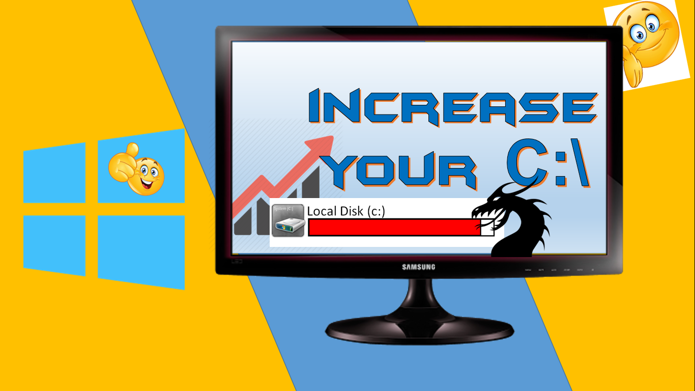 How to increase drive C in Windows 7, 8, XP at the expense of drive D without losing data 41