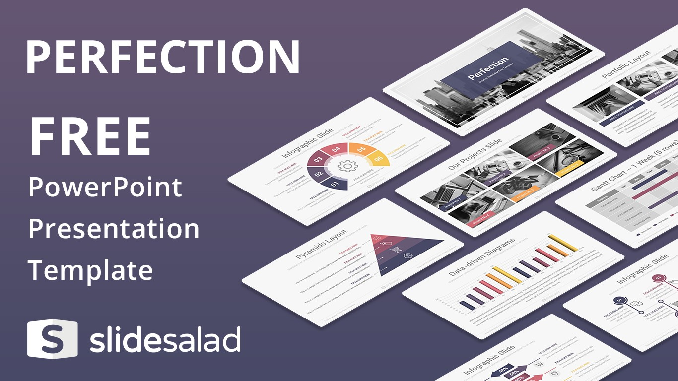 Best free powerpoint templates and google slides themes from slidesalad perfection free powerpoint presentation template friedricerecipe Images