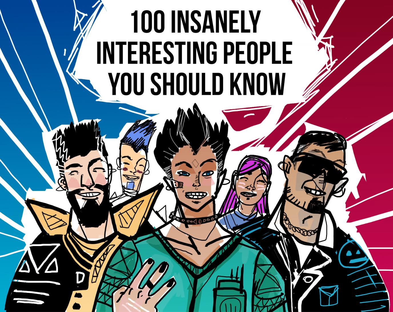 interesting people. 100 insanely interesting people you should know \u2013 unmistakable creative l