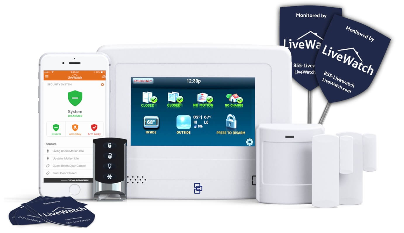Merveilleux Gain Peace Of Mind With A Top Notch Wireless Home Security System