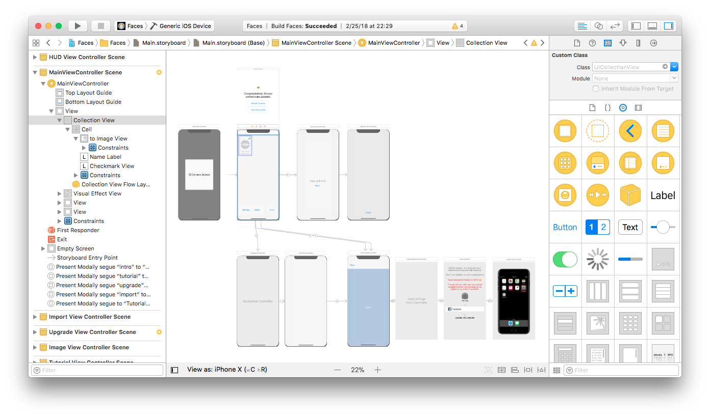 Xcode university quick intro to storyboards segues ccuart Image collections