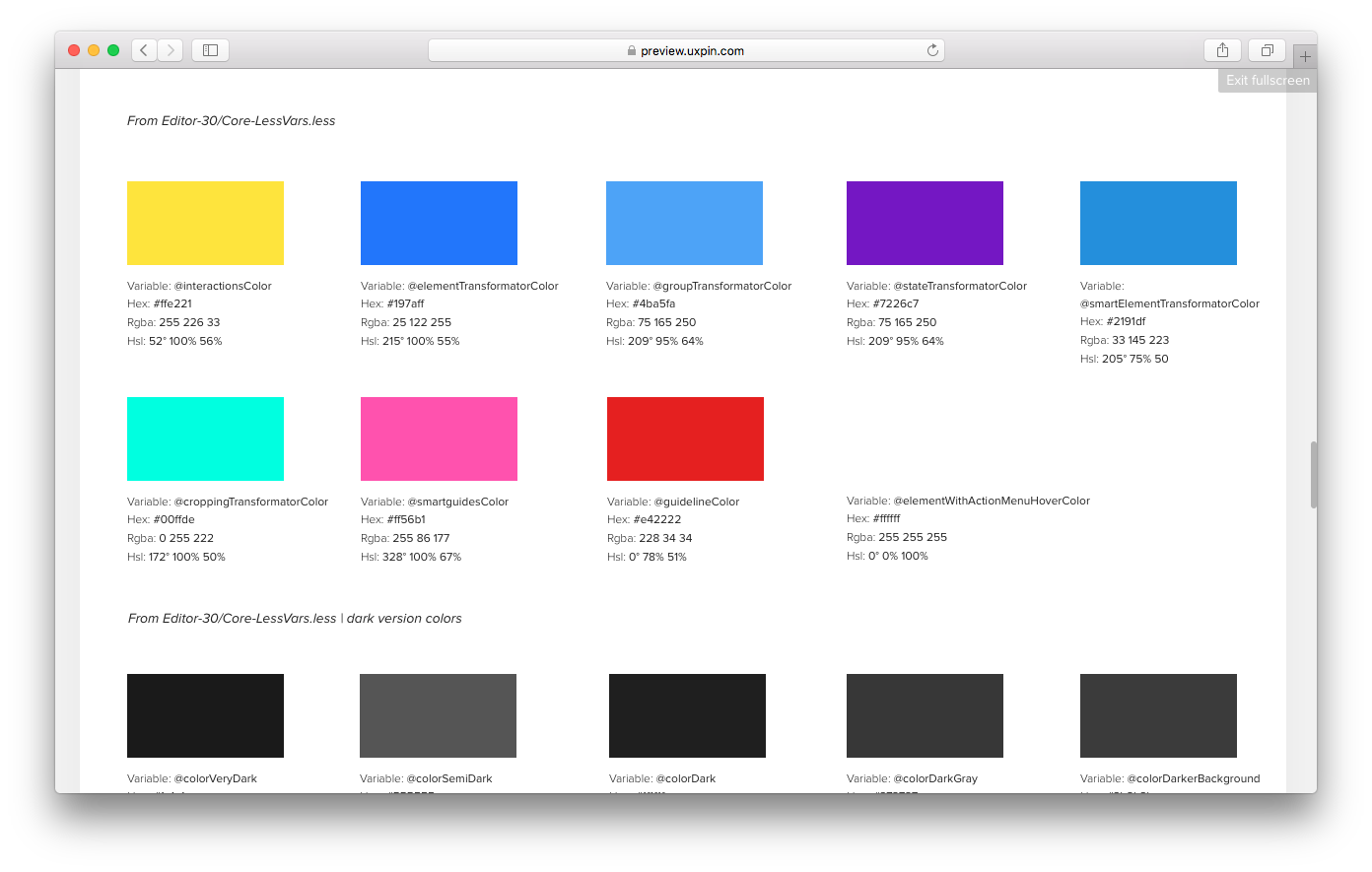 100 list of color part 4 material design features xamarin