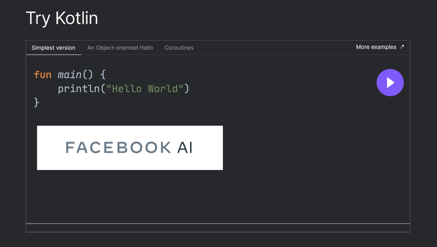 Facebook Building Automatic Differentiation System for Kotlin Programming Language