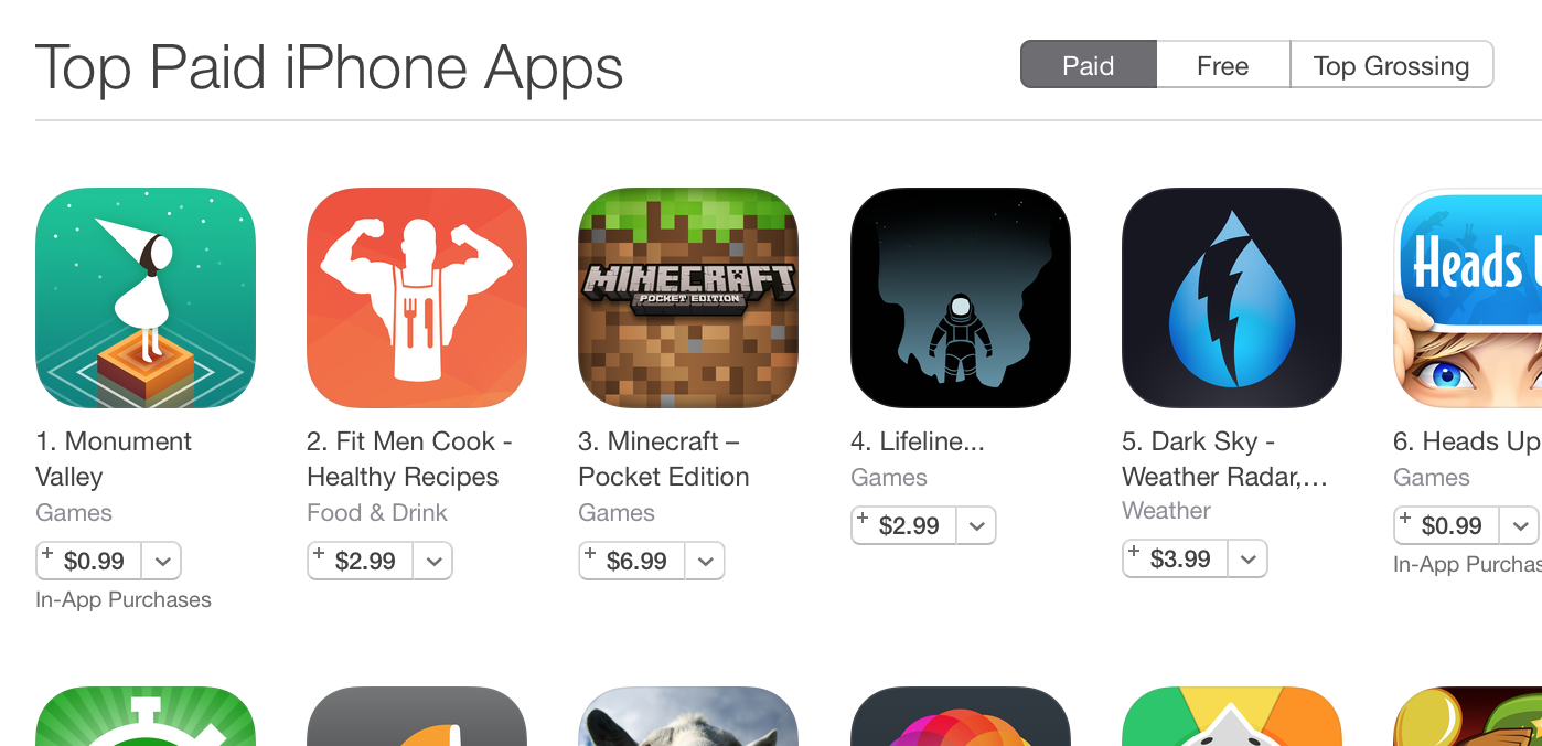 How a 299 recipe app became a top 2 paid app in the app store forumfinder Gallery