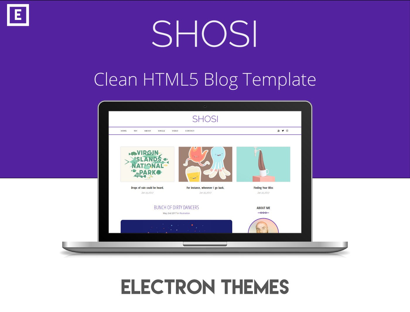 Shosi Clean Html5 Blog Templatefree Download King Rayhan Medium