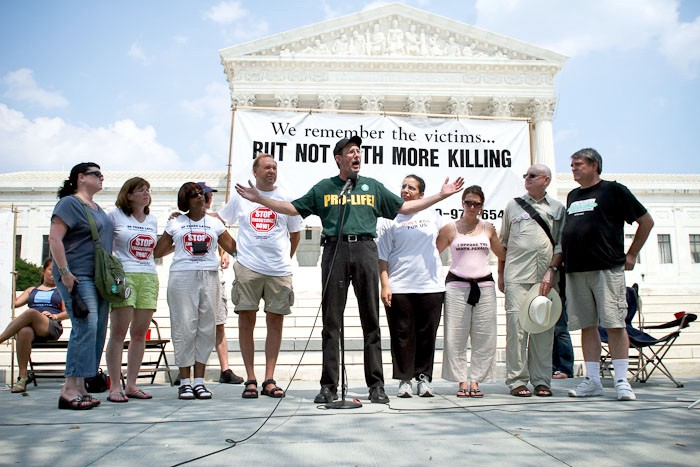 Lindy Lou—Juror #2 to speak at Starvin' for Justice event at US Supreme Court