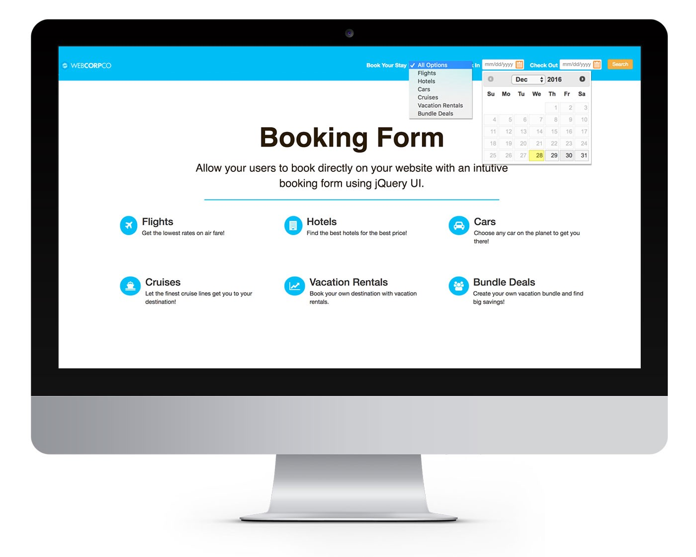 How to create a booking form with jquery ui web design by solodev how to create a booking form with jquery ui thecheapjerseys Choice Image