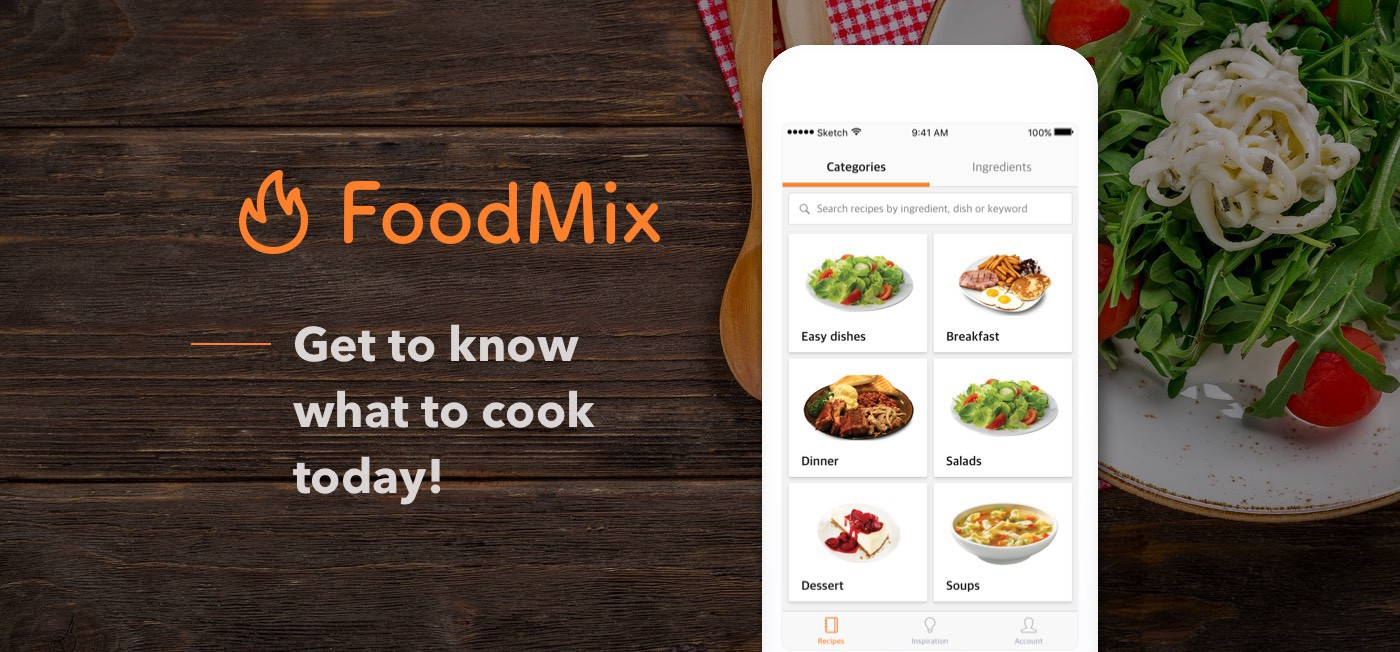 Foodmix cooking app ux case study ux planet foodmix cooking app ux case study forumfinder Gallery