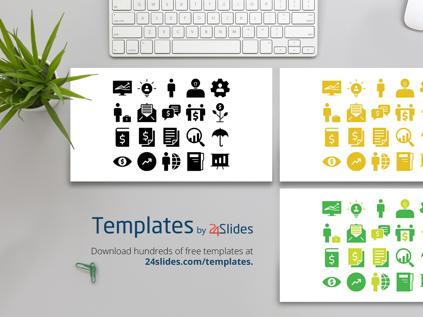 general powerpoint icons template free download free