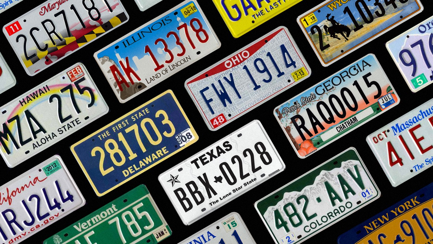 The 5 Best And 5 Worst License Plates In The United States