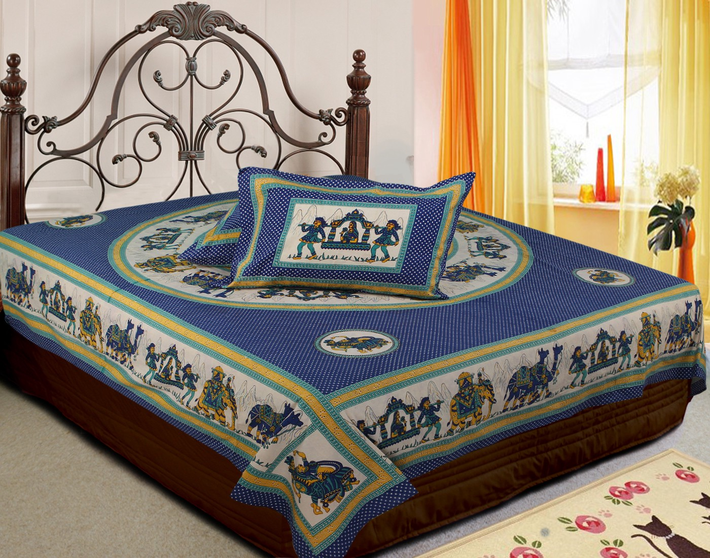 Tales Of Printed Bed Sheet A Buying Guide U2013 Jaipur Fabric U2013 Medium