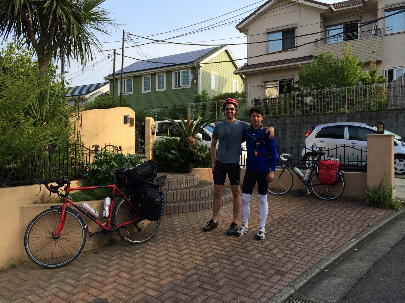 Cycling in Japan with Matthew