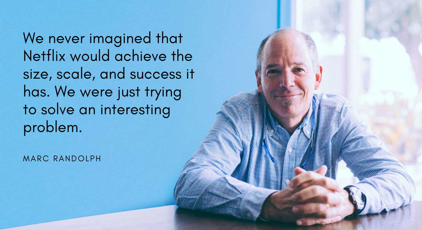 Interview with Netflix co-founder Marc Randolph