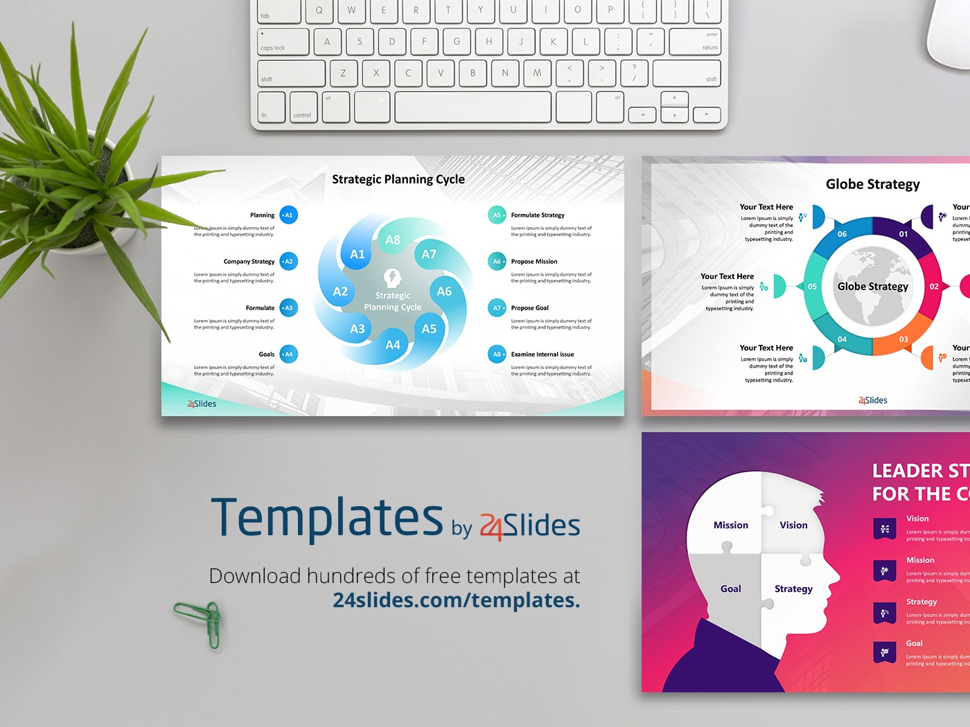 management strategy presentation template | free download, Strategy Presentation Templates Free, Powerpoint templates