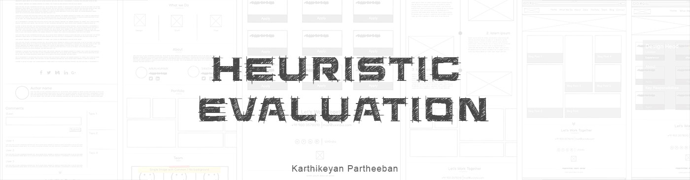 Introduction To Heuristic Evaluation  Ux Collective