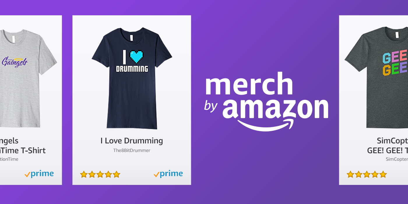 Twitch partner merch is now on amazon twitch blog twitch is teaming up with amazon once again to give partners a no hassle way to sell their custom merch on the worlds largest marketplace gumiabroncs Image collections