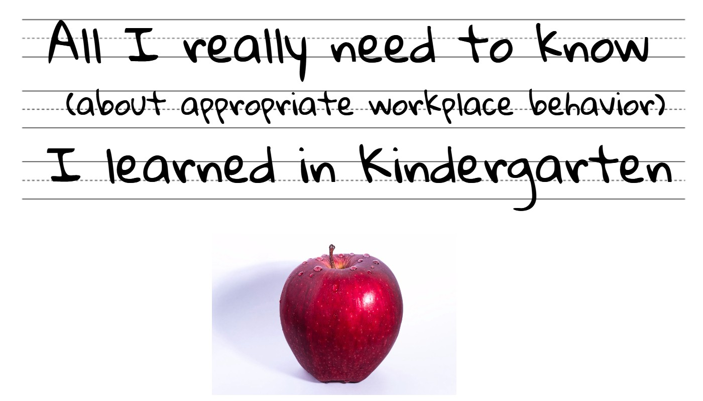 What do you need in the kindergarten