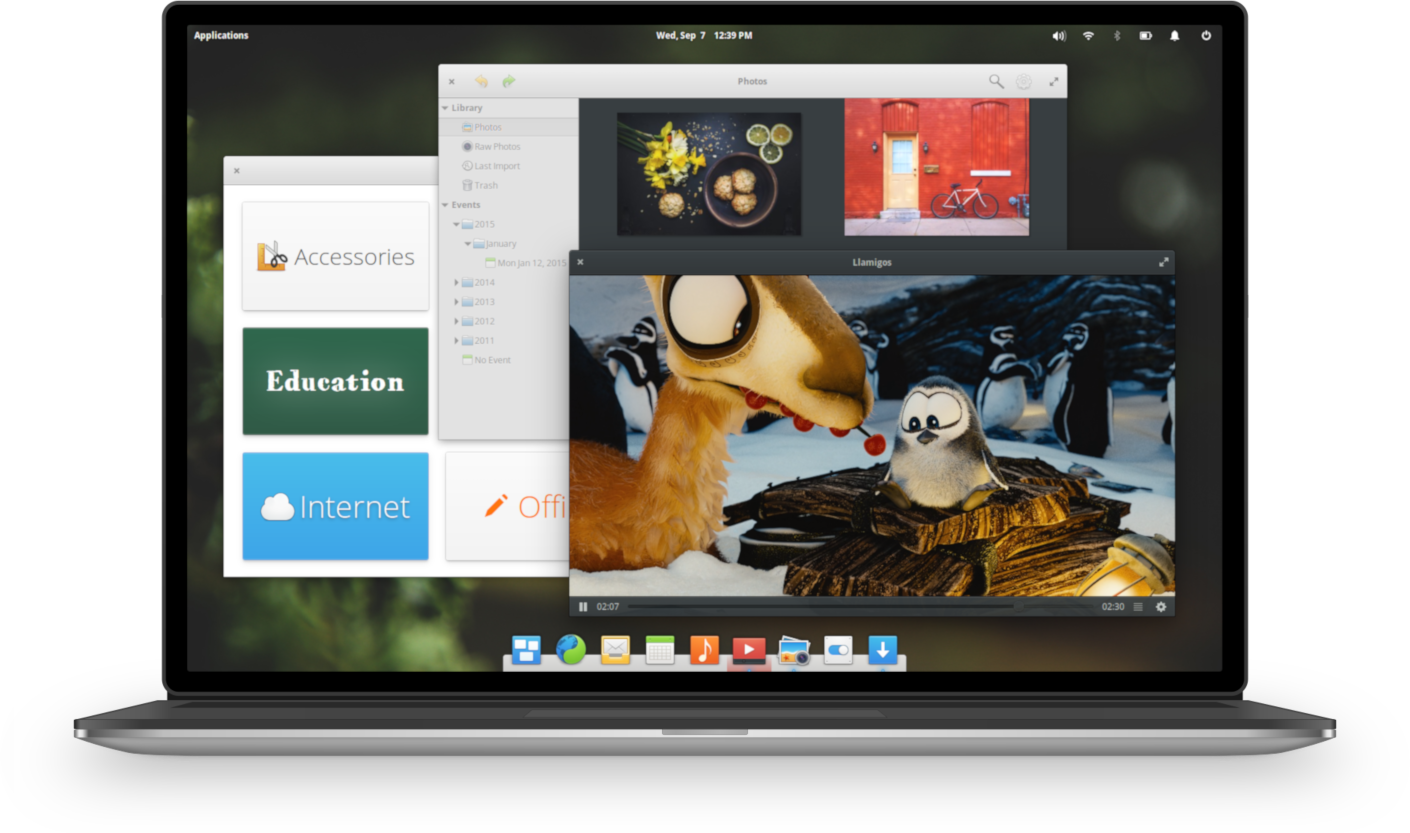 elementary OS Screenshot