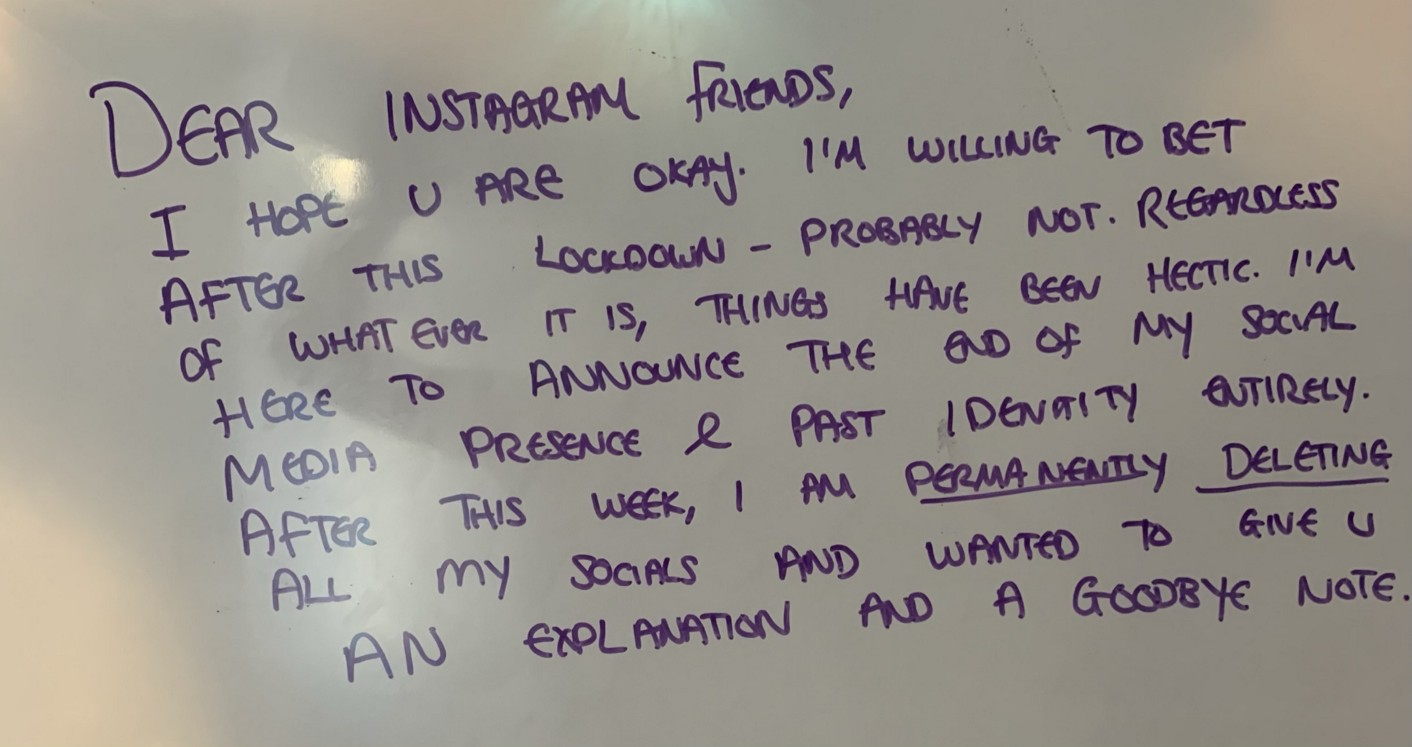 An image of text on a whiteboard.